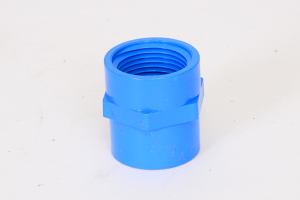 Tanay Industries Corp 187 Female Threaded Adaptor Blue