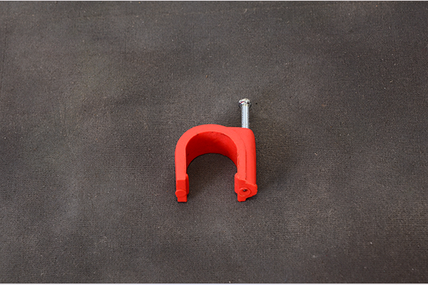 Tanay industries corp pvc clamp with clip nail